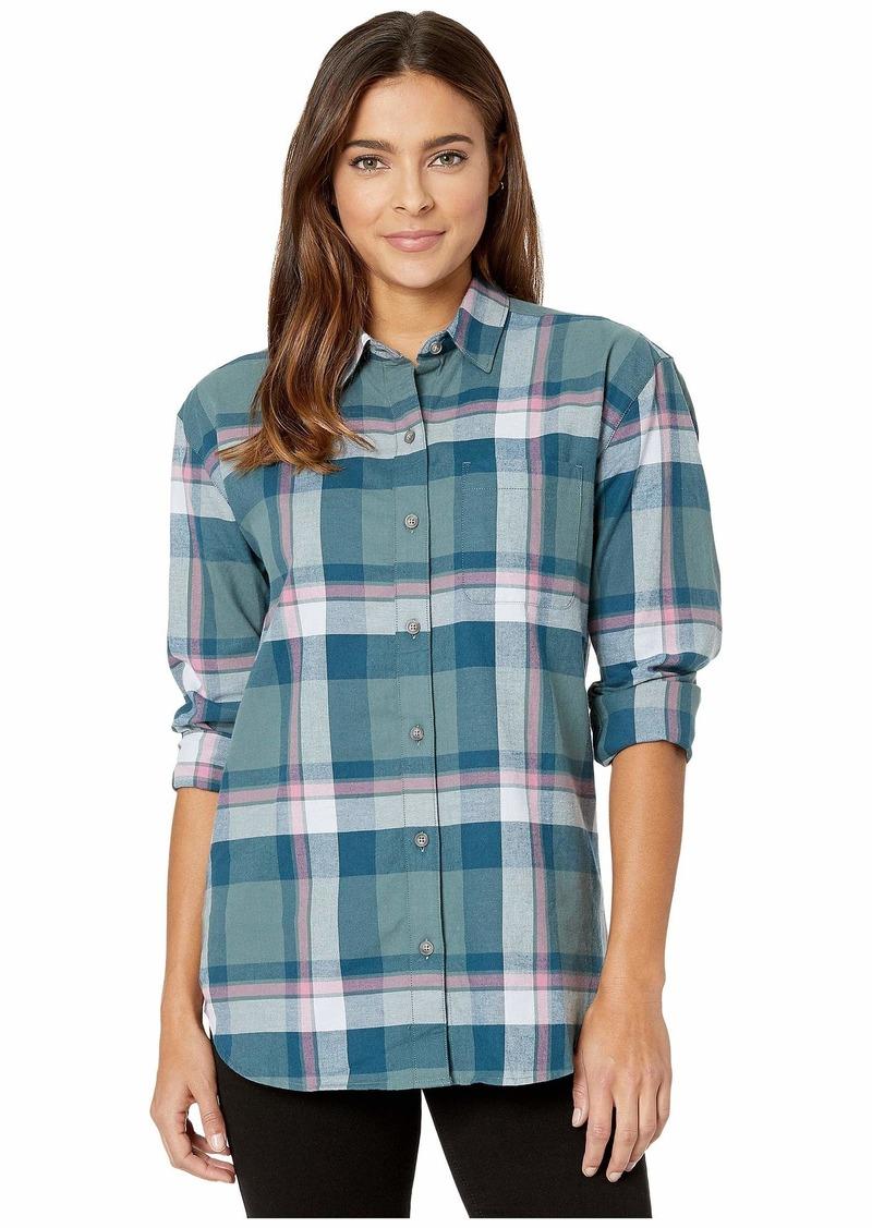 Eddie Bauer Stines Boyfriend 2.0 Flannel Shirt
