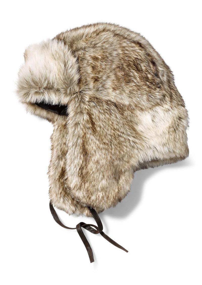 d6d4c0da2480a Eddie Bauer Truckee Faux Fur Trapper Hat