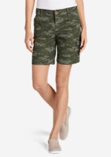 Women's Adventurer Ripstop Cargo Shorts - Camo