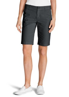 Eddie Bauer Women's Adventurer® Stretch Ripstop Bermuda Shorts - Slightly Curvy