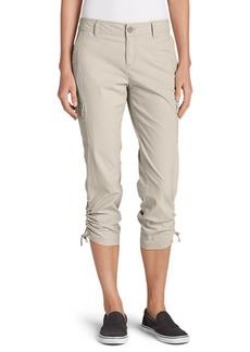 Women's Adventurer® Stretch Ripstop Crop Cargo Pants - Slightly Curvy