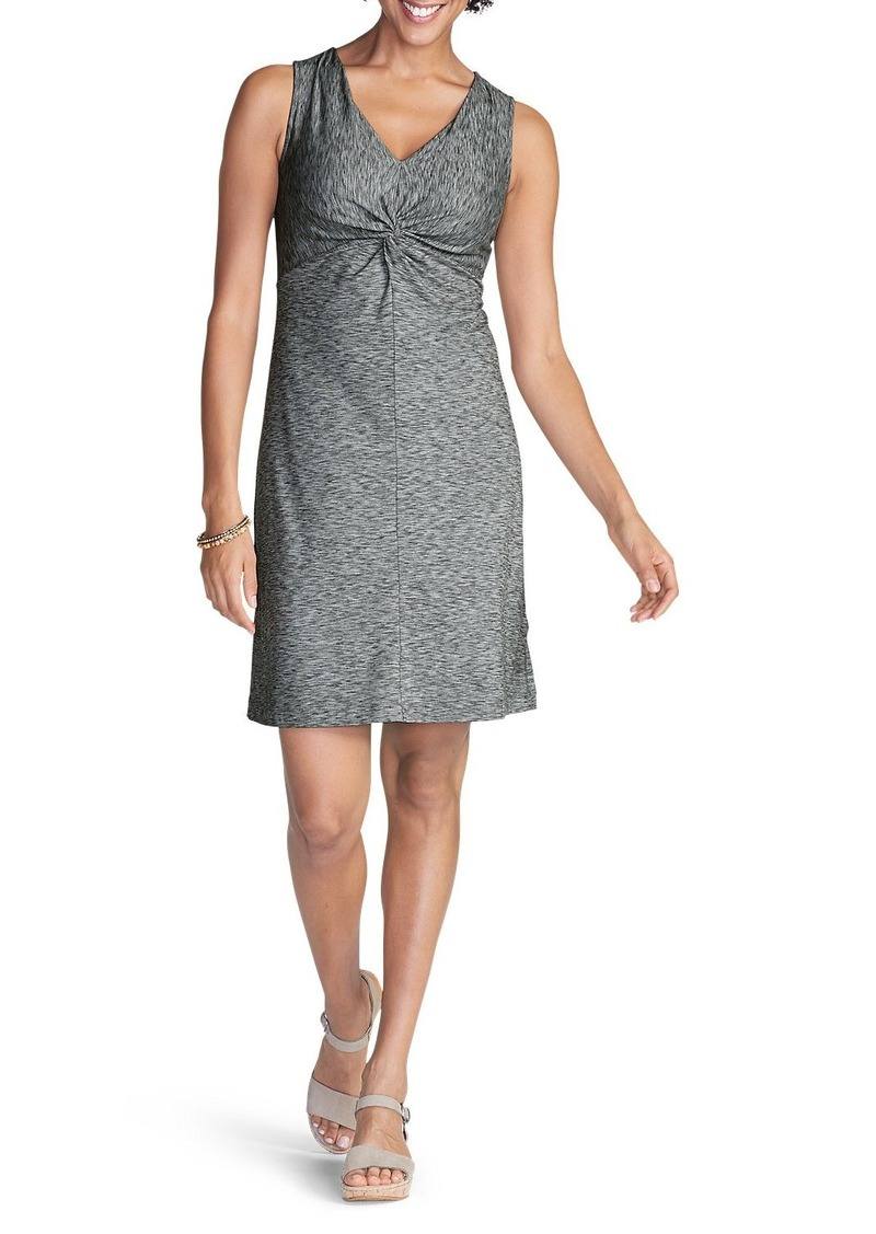 Eddie Bauer Women's Aster Tie The Knot Dress - Space Dye