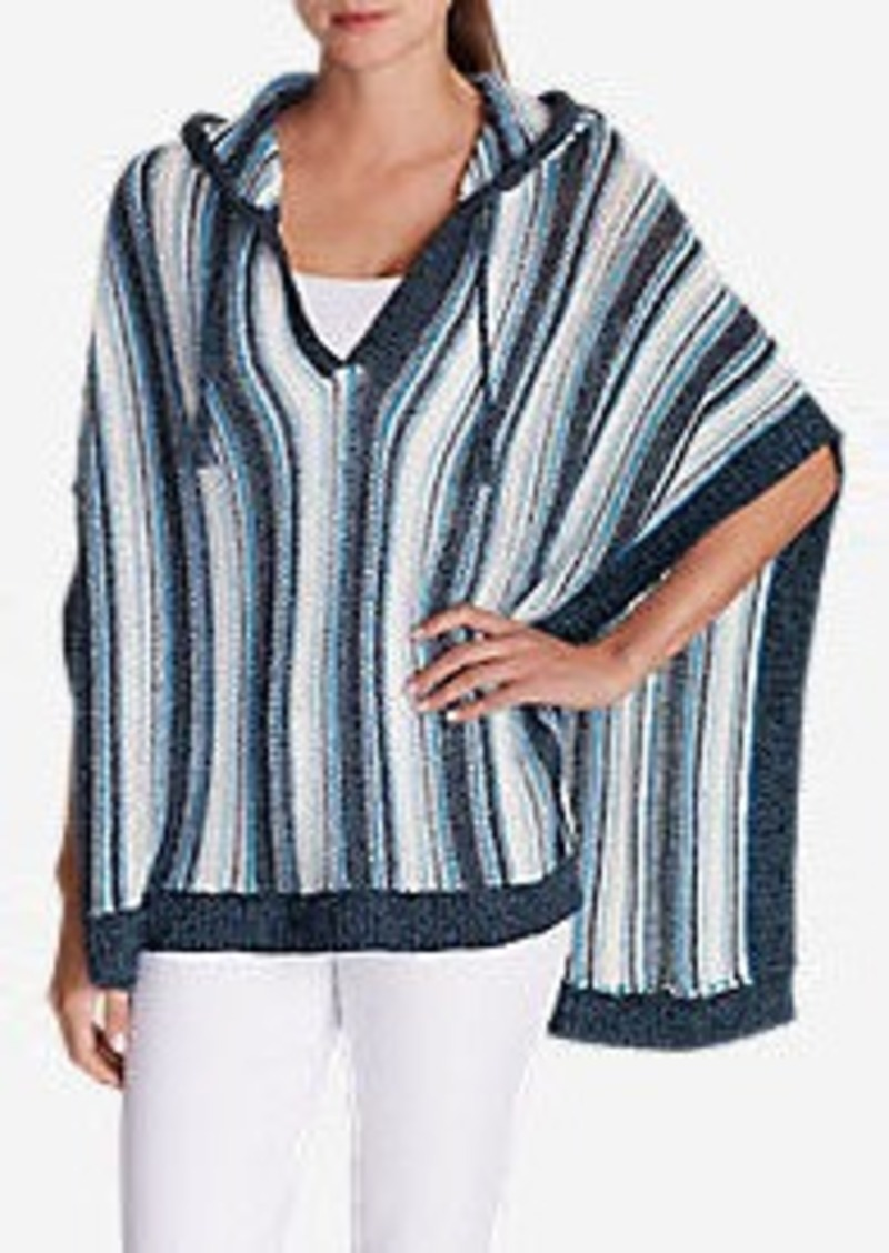 Eddie Bauer Women's Beachside Poncho Sweater