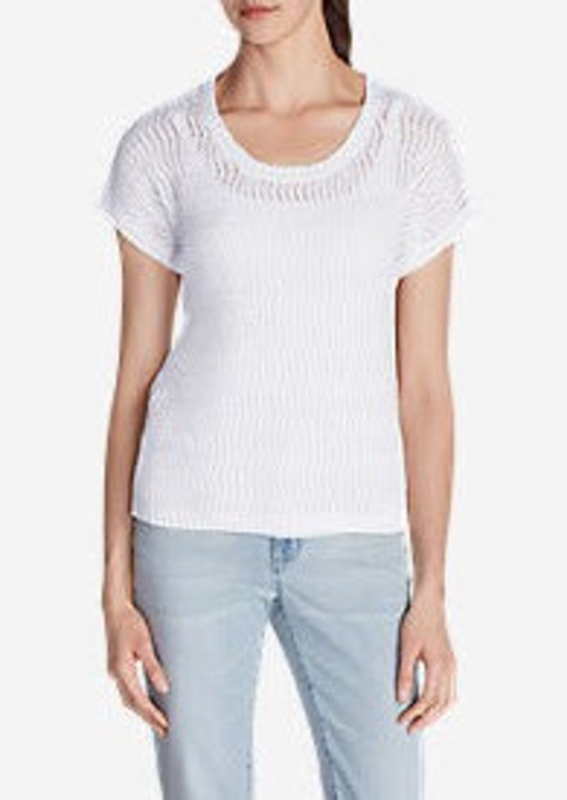 Eddie Bauer Women's Beachside T-Shirt Sweater