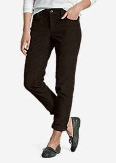 Eddie Bauer Women's Boyfriend Slim Leg Cord Pants