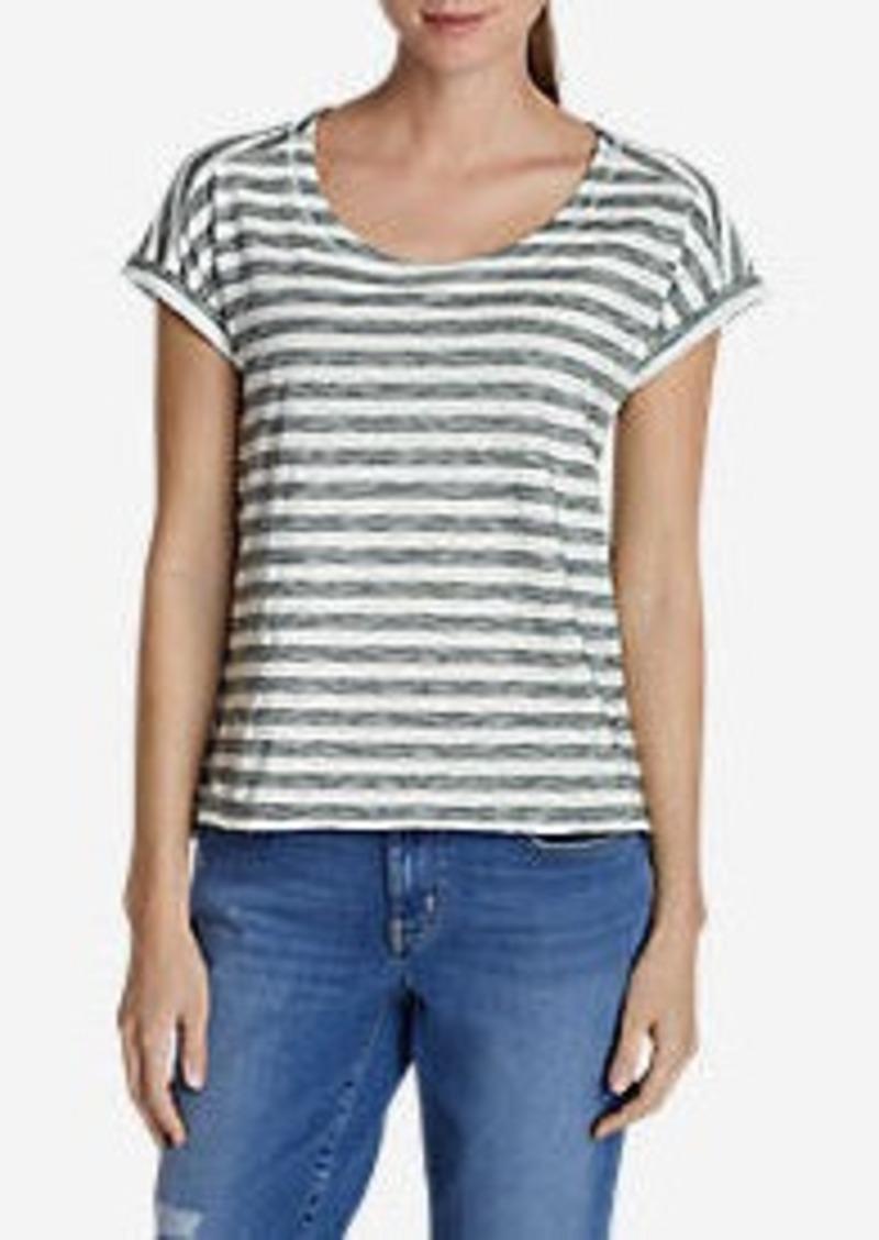 Eddie Bauer Women's Cascade T-Shirt - Stripe