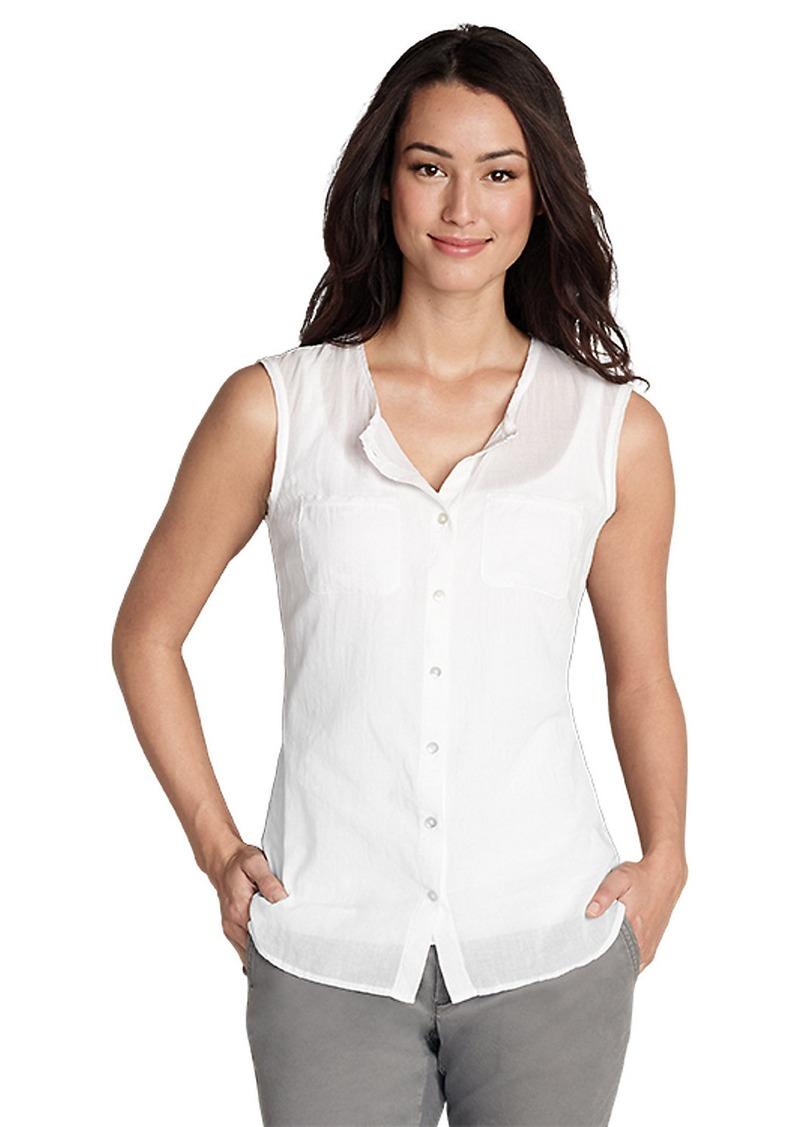 Eddie Bauer Women 39 S Daydreamer Sleeveless Shirt Solid
