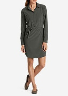 Eddie Bauer Women's Departure Shirt Dress