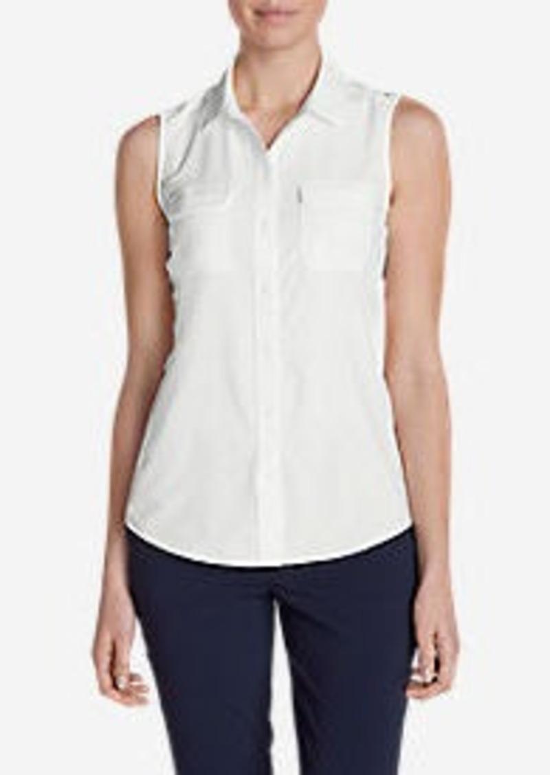 Eddie Bauer Women's Departure Sleeveless Shirt