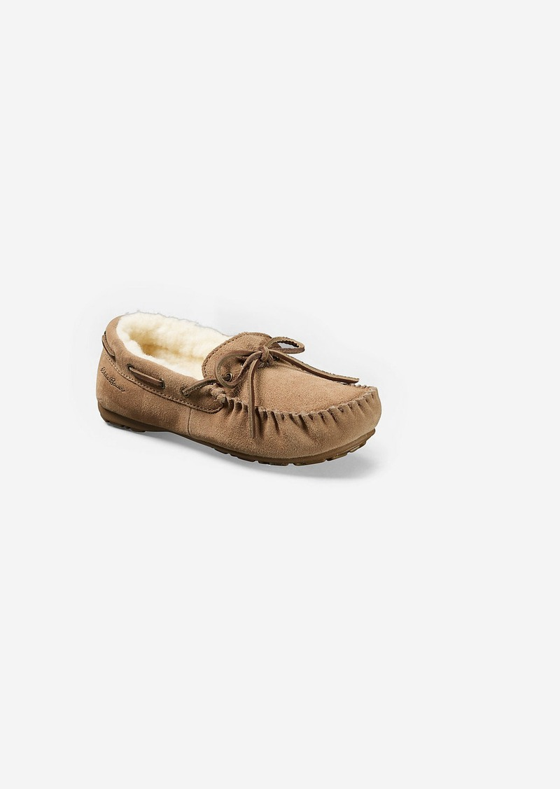 Women's Eddie Bauer Shearling-Lined Moccasin Slipper