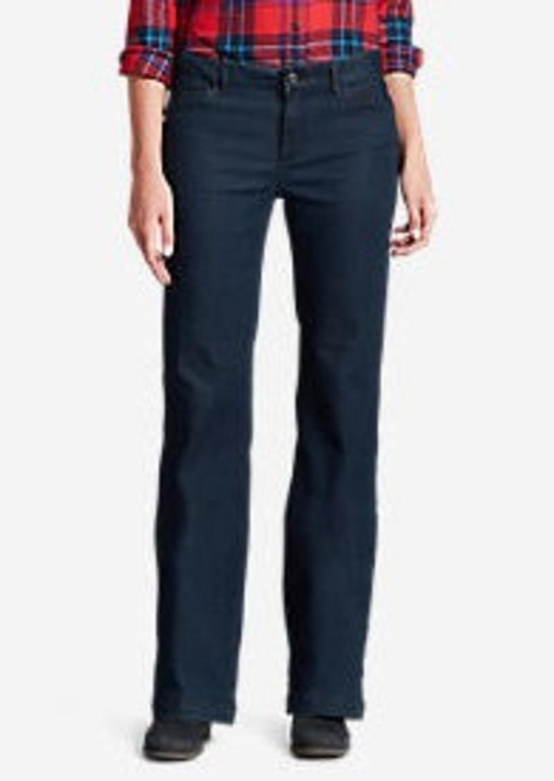 Eddie Bauer Women's Elysian Denim Trousers - Curvy