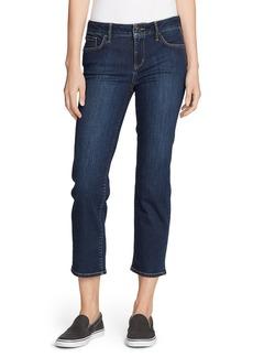 Women's Elysian Slim Straight Crop Jeans