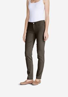 Women's Elysian Twill Slim Straight Jeans - Slightly Curvy