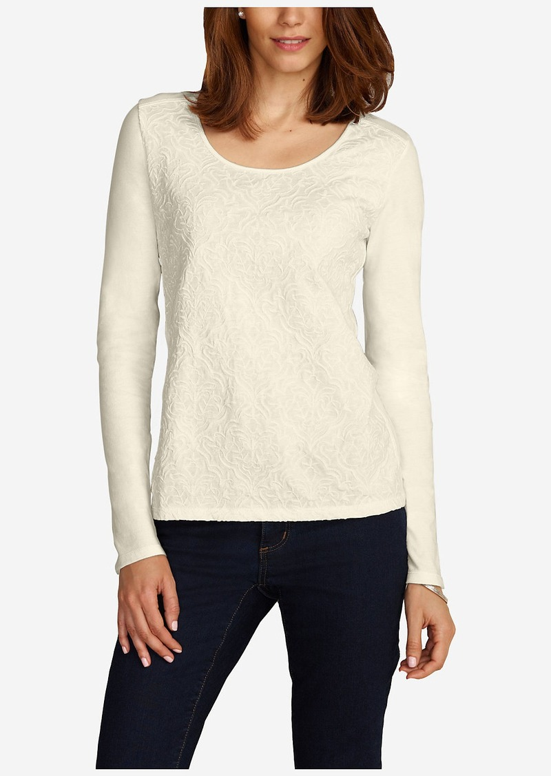 Eddie Bauer Women 39 S Embroidered T Shirt Casual Shirts