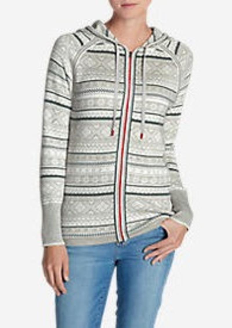 32789936be862 Eddie Bauer Women s Engage Full Zip Hooded Sweater Now  79.99
