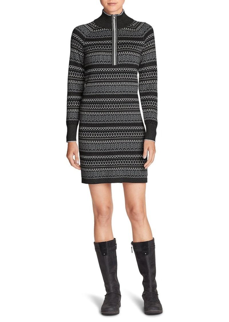 8ca47c5c346d9 Eddie Bauer Women s Engage Sweater Dress