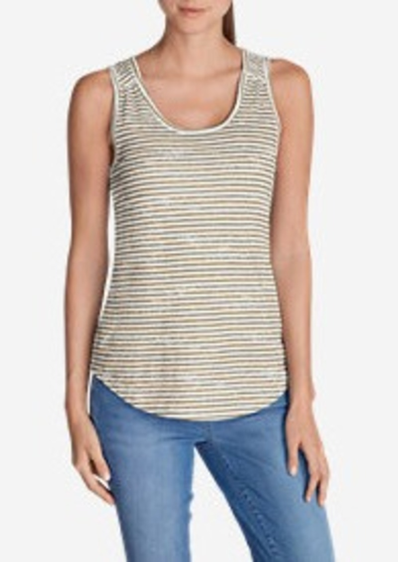 Eddie Bauer Women's Essential Slub Tank Top - Stripe