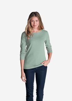 Eddie Bauer Women's Favorite Long-Sleeve Crewneck T-Shirt