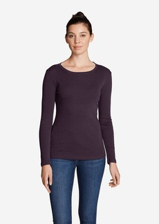 Eddie Bauer Women's Favorite Long-Sleeve Crewneck T-Shirt