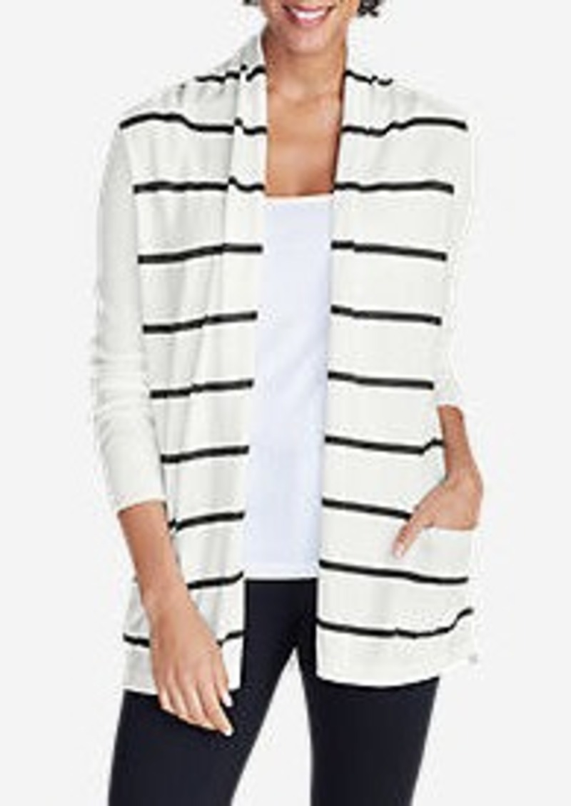 Eddie Bauer Women's Flightplan Cardigan Sweater - Stripe