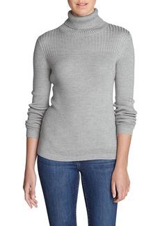 Eddie Bauer Women's Flightplan Turtleneck Sweater