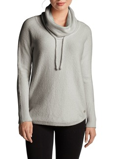 Eddie Bauer Women's Funnel-Neck Pullover Sleep Sweater