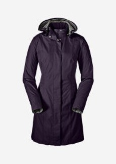 Eddie Bauer Women's Girl on the Go Trench Coat