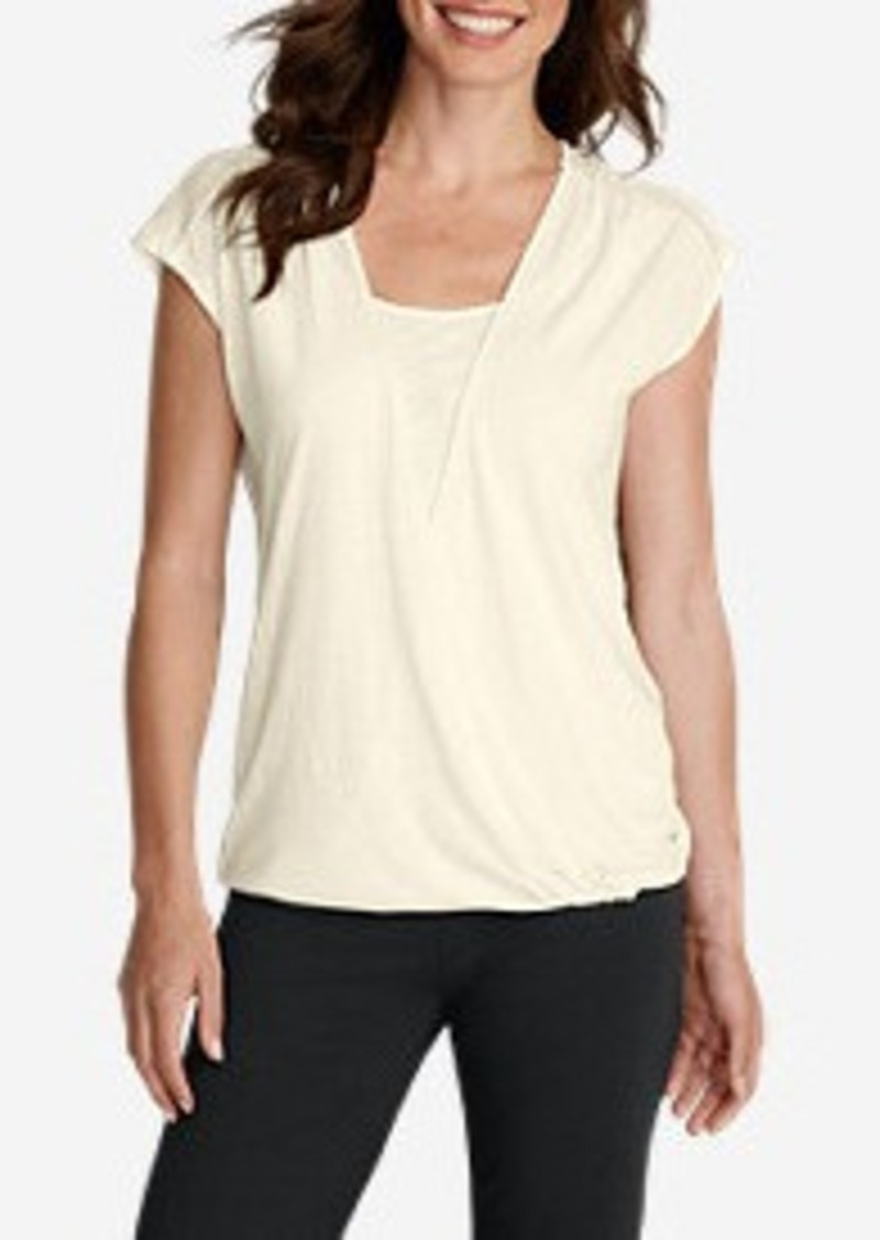 Eddie Bauer Women 39 S Girl On The Go Wrap Top Casual