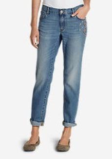 Eddie Bauer Women's Homespun Boyfriend Slim Jeans