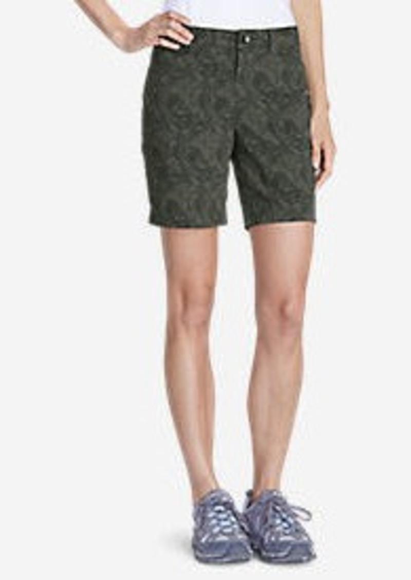 """Eddie Bauer Women's Horizon 8"""" Shorts - Print"""