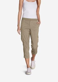 Women's Kick Back Twill Crop Pants