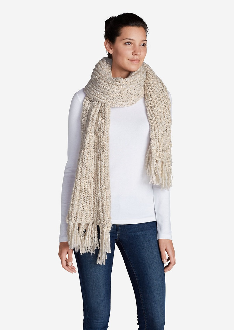 eddie bauer s larkspur sweater scarf misc