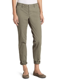 Eddie Bauer Women's Legend Wash Boyfriend Stretch Pants