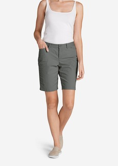 """Eddie Bauer Women's Legend Wash Curvy Stretch Shorts - 10"""""""