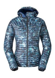 Eddie Bauer Women's MicroTherm StormDown Hooded Jacket