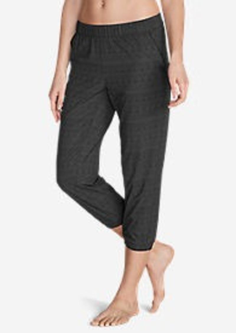 Eddie Bauer Women's Myriad Crop Pants - Print