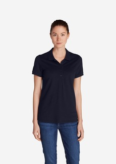 Eddie Bauer Women's Piqué Short-Sleeve Polo Shirt