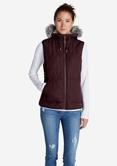 Eddie Bauer Women's Snowfurry Hooded Vest
