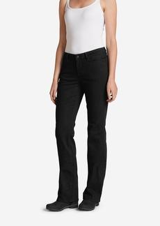 Women's StayShape® Bootcut Black Jeans - Curvy
