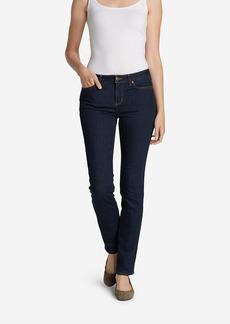 Women's StayShape Straight Leg Jeans - Curvy