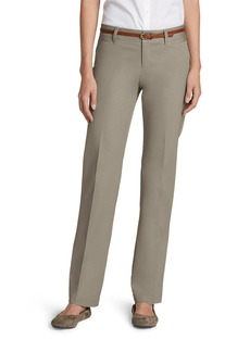 Eddie Bauer Women's StayShape® Straight Twill Pants - Slightly Curvy