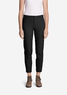 Women's StayShape® Twill Ankle Pants