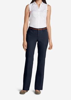 Women's StayShape® Twill Trousers - Curvy