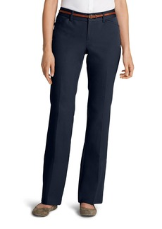 Eddie Bauer Women's StayShape® Twill Trousers - Curvy