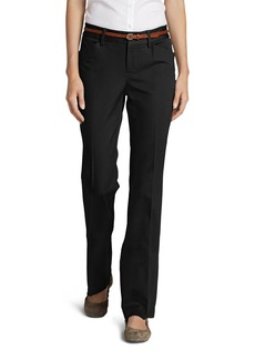 Eddie Bauer Women's StayShape® Twill Trousers - Slightly Curvy