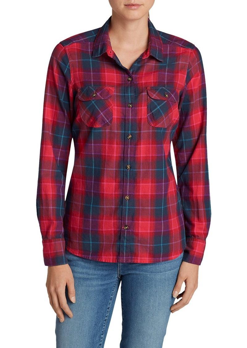 Eddie Bauer Women 39 S Stine 39 S Favorite Flannel Shirt Plaid