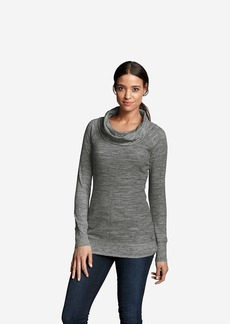 Eddie Bauer Women's Stine's Favorite Waffle Cowl Tunic