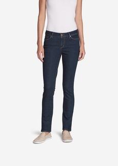 Eddie Bauer Women's Truly Straight Jeans - Straight Leg