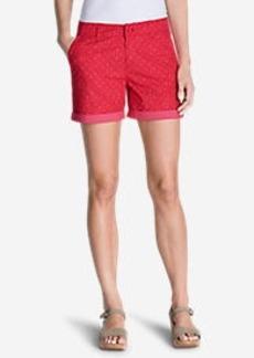 Women's Willit Poplin Shorts - Print