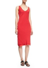 Edun Bias-Cut Layered Slip Dress